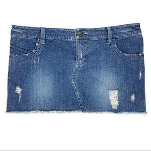 Y2K 2000s Hang Ten micro mini skirt size 9